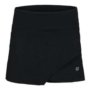 Women`s Fly 14 Inch Tennis Skort Black