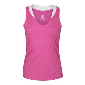 Women`s Love Tennis Tank Phlox Pink