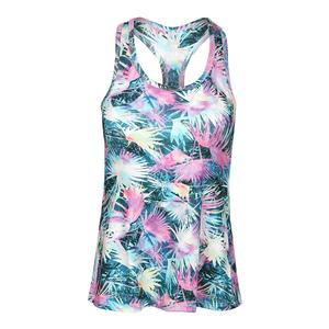 Women`s Race Day Tennis Tank Caracas Print