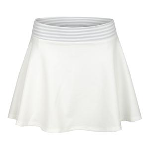 Women`s Flex 13 Inch Tennis Skort White