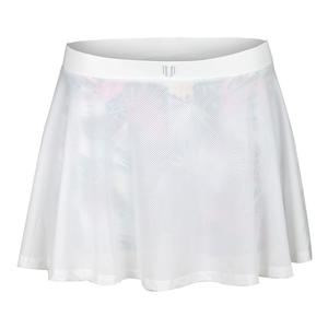 Women`s Meshed Up 13 Inch Tennis Skort White