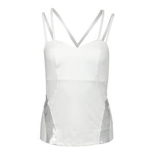 Women`s Avail Tennis Tank White