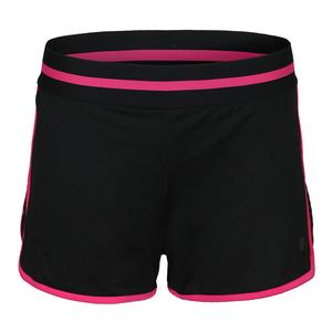 Women`s Hypercourt Tennis Short Black Beauty