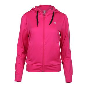 Women`s Hypercourt Express Tennis Jacket Pink Yarrow