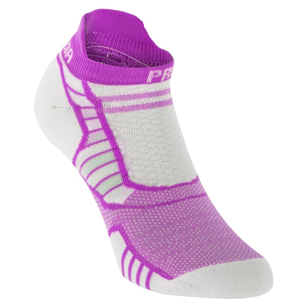 Asics Junior Lyte Running Socks Green Pink Purple Sports Breathable Lightweight