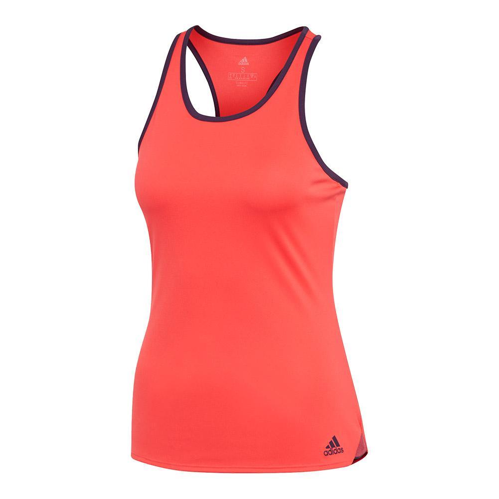 Women's Club Tennis Tank Shock Red