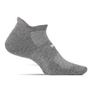 High Performance Light Cushion No Show Socks Heather Gray