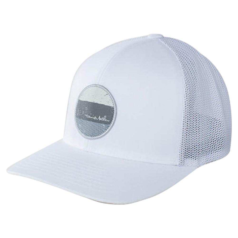 TRAVISMATHEW TRAVISMATHEW Men s Grillin Tennis Cap White 322259140ff