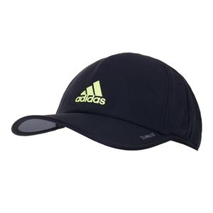 Men`s SuperLite Tennis Cap Black and HI-Res Yellow