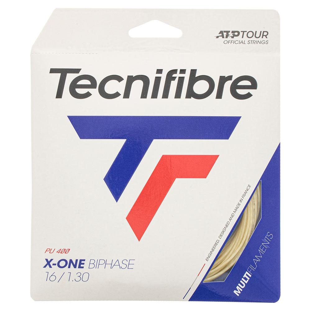 X- One Biphase Tennis String Natural