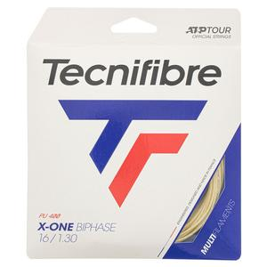 X-One Biphase Tennis String Natural