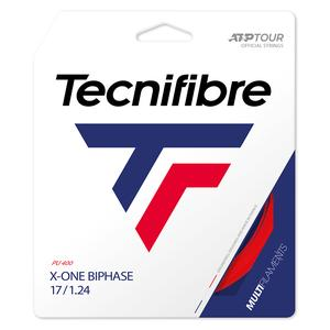 X-One Biphase Tennis String Red