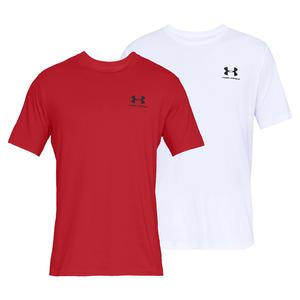 Men`s UA Sportstyle Left Chest Short Sleeve Top