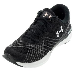 Women`s UA Threadborne Push Training Shoes Black and White