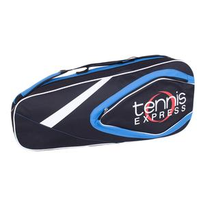 Tennis Express 3 Pack Tennis Bag Black and Blue