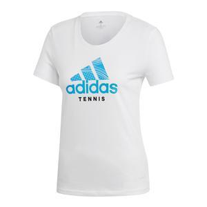 Women`s Category Tennis Tee White