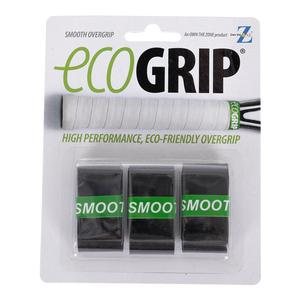 Smooth Tennis Overgrip 3 Pack Black