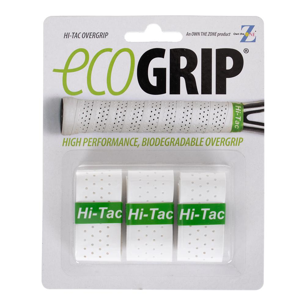 Hi- Tac Tennis Overgrip 3 Pack White