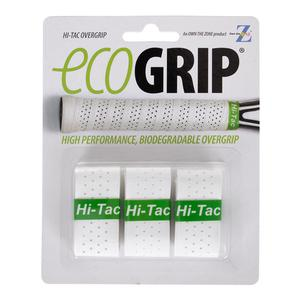 Hi-Tac Tennis Overgrip 3 Pack White