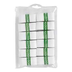 Smooth Tennis Overgrips 12 Pack White