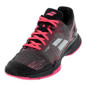Women`s Jet Mach II Clay Tennis Shoes Pink and Black
