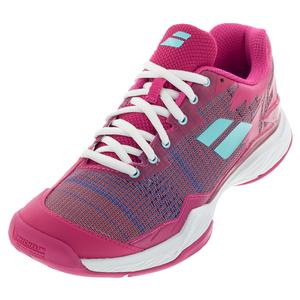 Women`s Jet Mach I All Court Tennis Shoes Purple and Blue Pastel