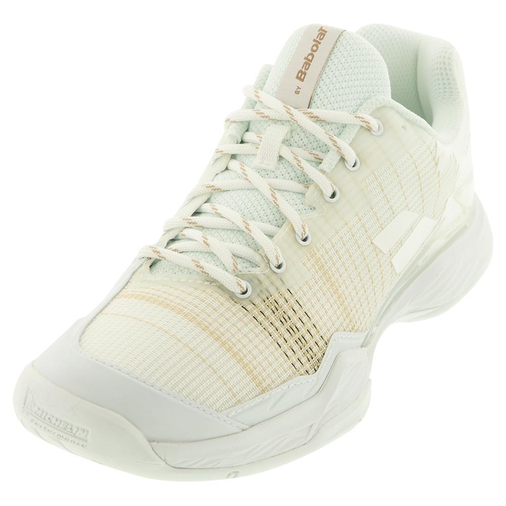Women's Jet Mach I All Court Wimbledon Tennis Shoes White