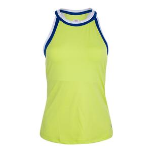 Women`s Halter Tennis Tank Sharp Green