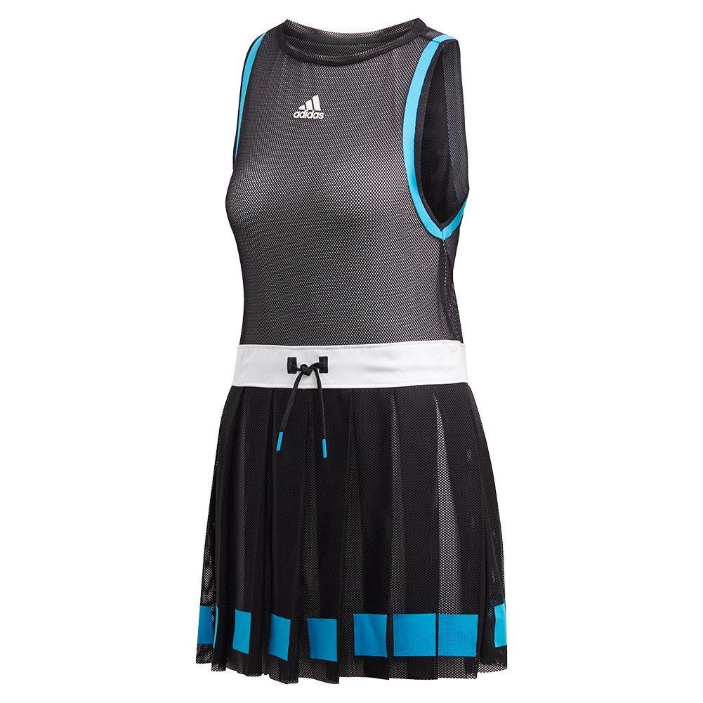 Women's Escouade Tennis Dress Black And White