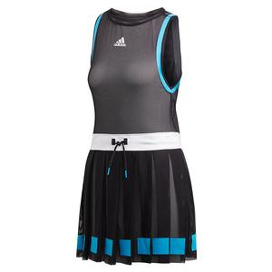 Women`s Escouade Tennis Dress Black and White