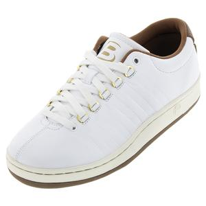 Men`s Classic 88 II Bryan Brothers Lifestyle Shoes White and Dark Brown