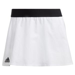 Women`s Escouade Tennis Skirt White and Black