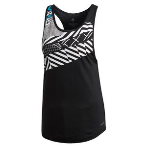 Women`s Paris Tennis Tank Black