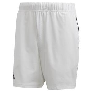 Men`s Escouade 7 Inch Tennis Short White