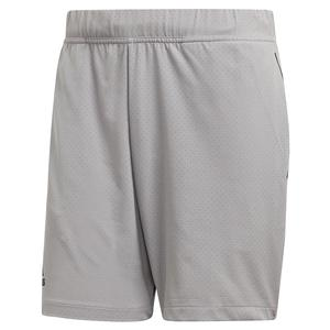 Men`s Escouade 7 Inch Tennis Short Light Granite