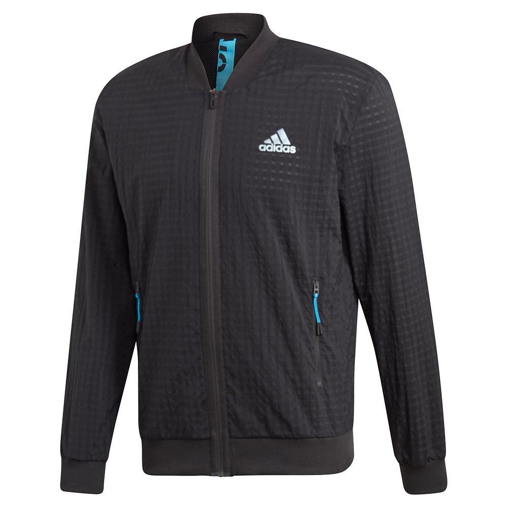 Men's Escouade Tennis Jacket Black