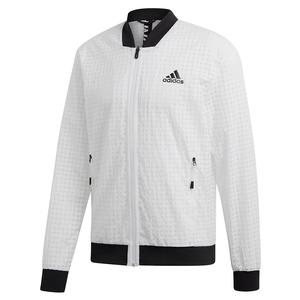 Men`s Escouade Tennis Jacket White