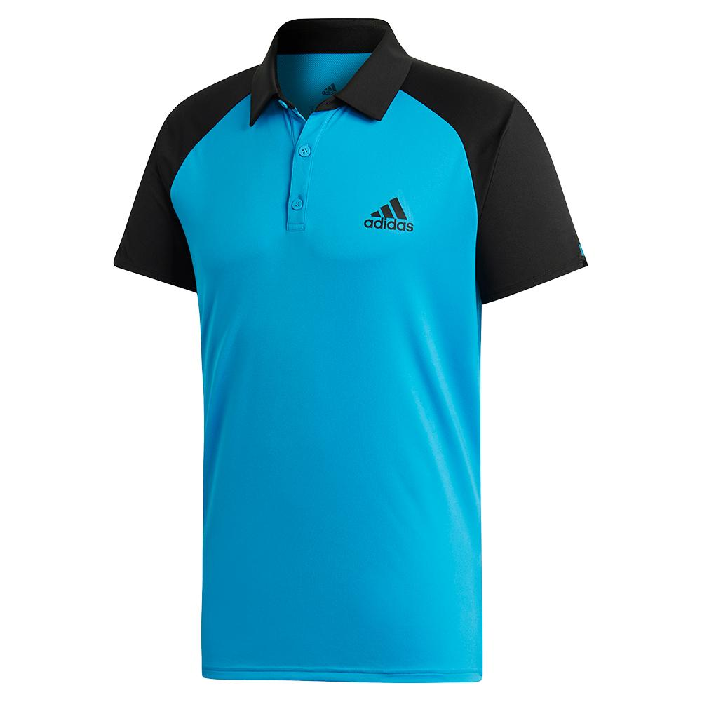 Color Tennis Adidas Shock And Black Club In Polo Block Men`s Cyan hdxrQtsC