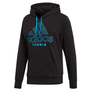 Men`s Category Graphic Tennis Hoody Black