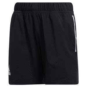 Boys` Escouade Tennis Short Black and White