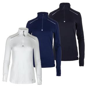 Women`s Half Zip Tennis Jacket