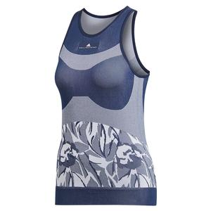 Women`s Stella McCartney Court Seamless Tennis Tank Night Indigo