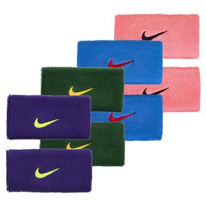 Swoosh Doublewide Tennis Wristbands