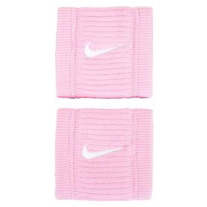 Dri-Fit Reveal Tennis Wristband Pink Rise and Laser Fuchsia