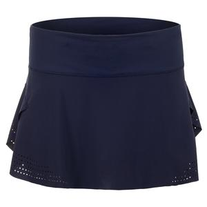 Women`s Laser Pulse Tennis Skirt Midnight