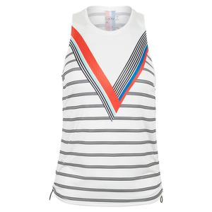 Women`s V Cinch Tennis Tank Retrospect