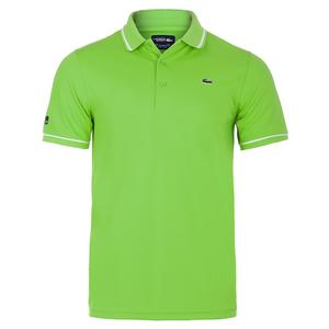 Men`s Miami Open Ultra Dry Tennis Polo Reinette and White