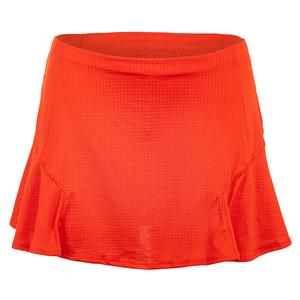 Women`s Step Up Tennis Skirt Crimson