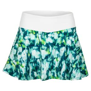 Women`s Highline 13 Inch Tennis Skort Brushstroke Print