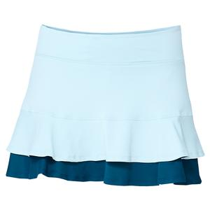 Women`s Center Point 13 Inch Tennis Skort Starlight Blue